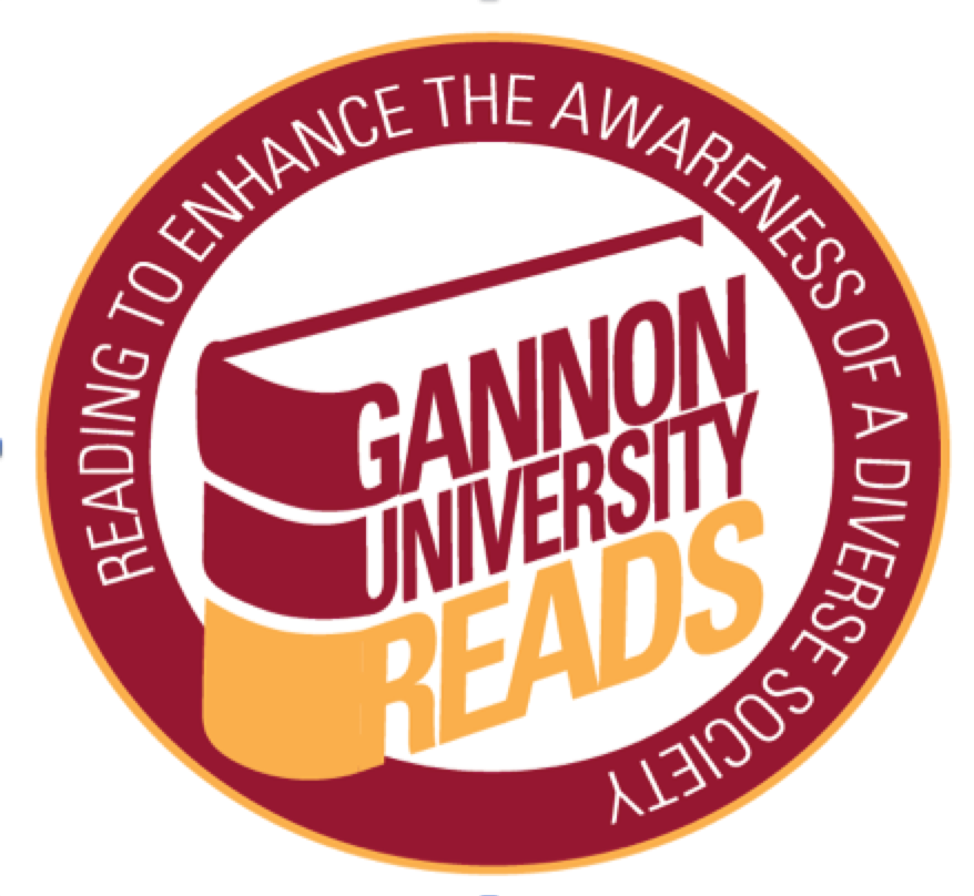Gannon University Reads logo